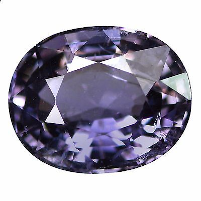 1.46 Ct Genuine 100% Natural Oval 8 x 6 mm Sri Lanka AAA Silver Blue Spinel