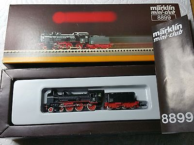 Märklin Z 8899 Dampflok mit Tender BR 38 DB Steamlocomotive TOP + OVP!