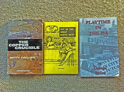 Historical Mount Isa Books by Aplin,Beard,and Collins