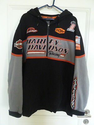 Sweater Harley Davidson Screaming Eagle Avec Capuche