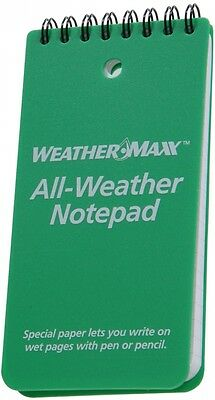 The Hillman Group All Weather Notepad Plastic cover with Weather Resistant Paper