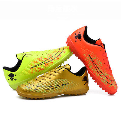 Men Kids Boy's TF Soccer Indoor Shoes Turf Soccer Cleats Football Trainers Shoes
