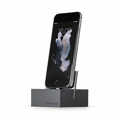 Native Union DOCK for iPhone or iPad - Weighted Charging Dock for iPhone or i...