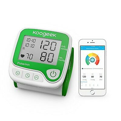 Blood Pressure Monitor with Heart Rate Detection Wrist Smart technology Koogeek