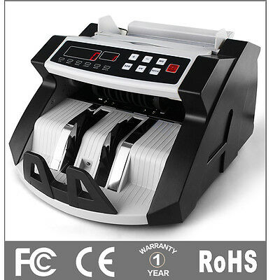 Australian Money Note Bill Currency Counter Counting Machine Detector Cash