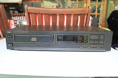 Vintage Rare CDC CD-100 CD Compact Disc Player Chuo Denki Co Made in JAPAN