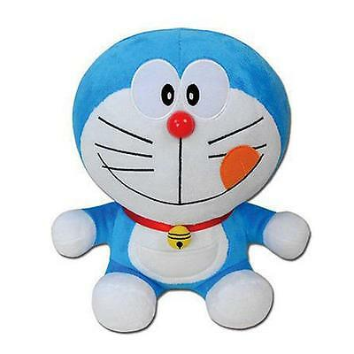 "Doraemon Delicious Smile Face 10"" Plush by Great Eastern NEW! FREE SHIPPING!"