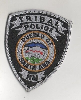 Pueblo of Santa Ana Tribal New Mexico Police Small Patch  tribal nation