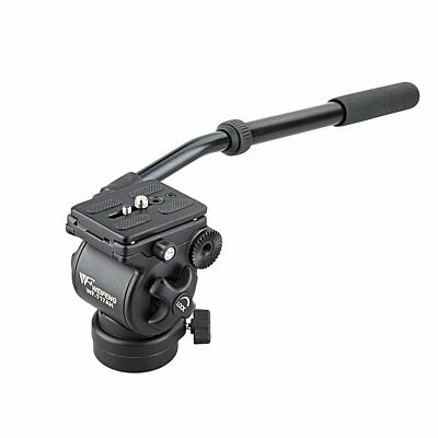 WEIFENG WF-717AH Fluid Tripod Head Drag with Handle for Photography Video DSLR
