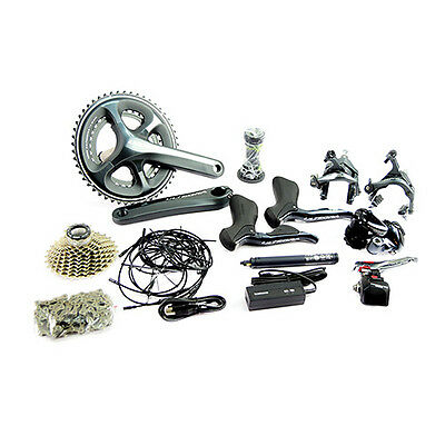 Shimano Ultegra 6870 Di2 Electronic 11 Speed 53/39T Groupset Build Kits 172.5mm