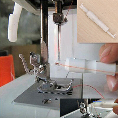 Insertion Tool Needle Threader Applicator Thread For Sewing Machine Serger Sew