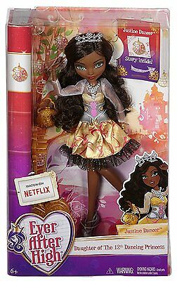 Brand New in Box Ever After High Justine Dancer Doll