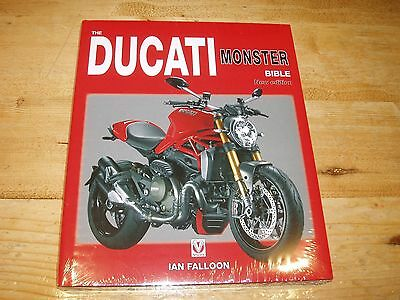 Shrinkwrapped Book - Ducati Monster Bible - New - Sale. Was £35.00