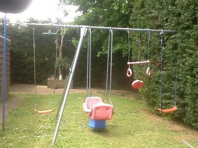 TP Metal Swing Frame with Extension Tube and Swings etc