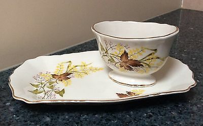 James Kent  Biscuit Tray & Sugar Bowl Made In England