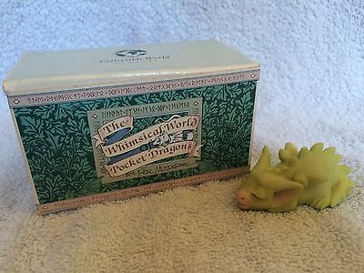 Pocket Dragons. Tiny Bit Tired. Mint Condition With Box. Rare Collectable.