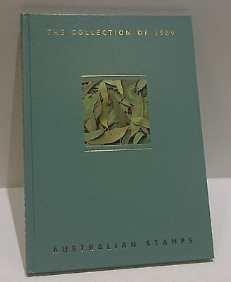 The Collection of 1989 Australian Stamps Album - No Stamps Included
