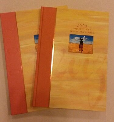 The Collection of 2003 Australian Stamps Album and Slipcase - No Stamps Included