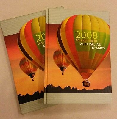 The Collection of 2008 Australian Stamps Album and Slipcase - No Stamps Included