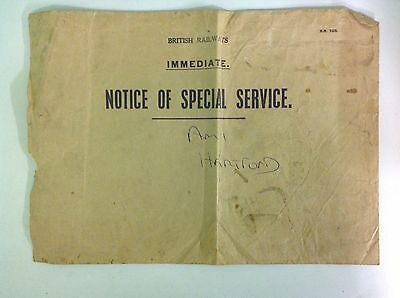 British Rail Vintage Internal Mail Envelope