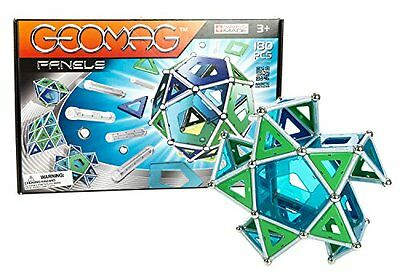 Creative Toys Magnetic Construction System Geomag Panels 180 Building Pieces