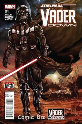 Star Wars Vader Down #1 (2015) Marvel 1St Printing Bagged & Boarded *low Pricing