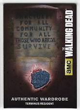 The Walking Dead Season 4 Part 2 - Costume Card M57 Terminus Resident