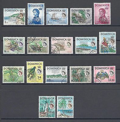 DOMINICA 1968 214/31 USED Cat £15