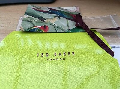 Genuine Ted Baker Gift Packet/ Box With Pouch Brand New In Packaging