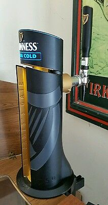 Guinness Extra Cold Light Up Beer Pump. Fully Working. Pub Bar Man Cave .