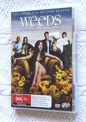 Weeds- The Complete Second Season (Dvd, 2-Disc Set), R-4, Free Shipping