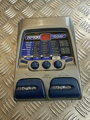 DigiTech RP100 Modeling Guitar Processor Effect Pedal -- Great condition --