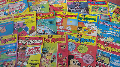 Mickey Mouse Comics 70sNumber of Issues 55