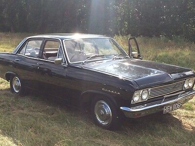 1967 vauxhall cresta pc delux 3.3 straight 6. tax exempt.