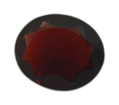 Oval Ruby CZ 10X12 1 pc Faceted Red gems UK
