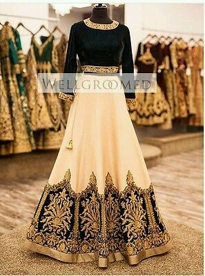 Bollywood Designer Lengha Indian Outfit Traditional Ethnic Wear Lengha Indian