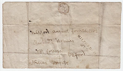 HORATIO NELSON. Autograph Free Front signed Nelson & Bronte, 1802