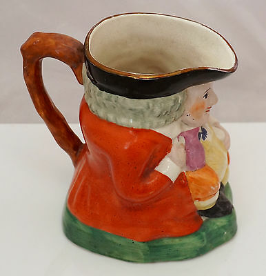 Early & rare C1912-15 Grays pottery HANLEY Staffordshire lustre Toby Jug