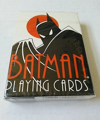 Batman The Animated Series 1992 Playing Cards Sealed/unopened Rare