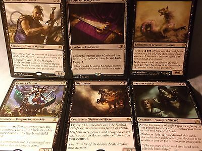 "Magic100 card Commander / Black deck with Drana, Liberator of Malakir ""Vampires"""