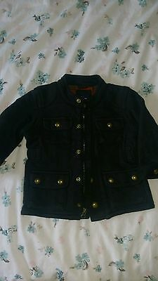 baby gap black winter coat