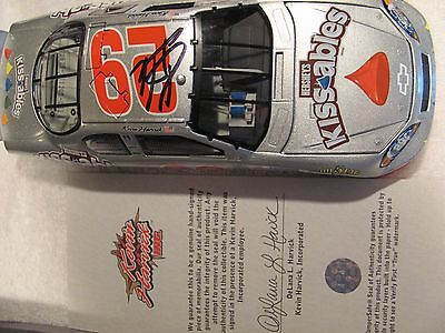 Kevin Harvick AUTOGRAPHED NASCAR diecast 1/24 Scale
