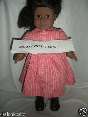 Pleasant Company American Girl Addy Walker Pierced Ears 18 Inch Doll 148/16