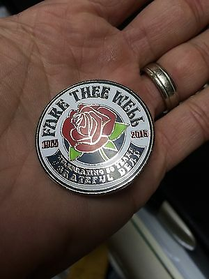 Grateful Dead 50th Anniversary Collectible Pin REDUCED!