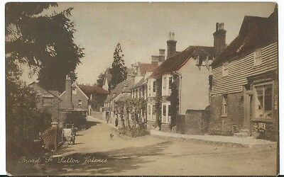 Sutton Valence Nr Maidstone Broad Street PPC by L Bailey Unused