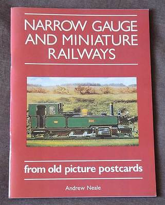 Narrow Gauge and Miniature Railways from old picture postcards booklet - A Neale