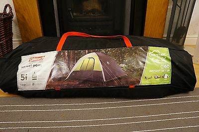 COLEMAN 5 MAN INSTANT POP UP CABIN TENT PERSON Festivals Family Camping
