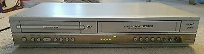 Philips DVP3100V VHS VCR Video Recorder & DVD Player Combo Combi TESTED WORKING