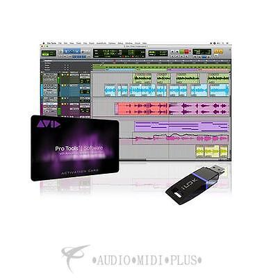 Avid Pro Tools with 12 Months Upgrades and Support Institutional Card with iLok