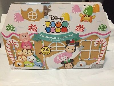 2016 Tsum Tsum Advent Calendar Countdown To Christmas Stacking Figures FAST SHIP
